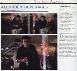 The Best Awards - Alcoholic Beverages Ad Age